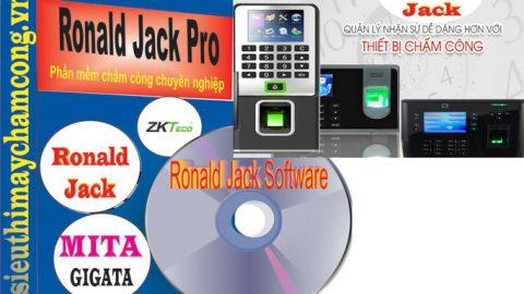 Download Phần mềm máy chấm công ronald jack