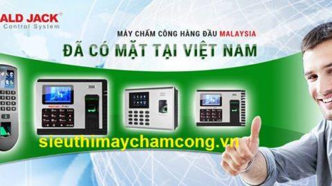 Ronald Jack Việt Nam chuyên phân phối máy chấm công ronald jack