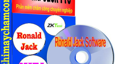 Hướng dẫn sử dụng phần mềm chấm công Ronald Jack software