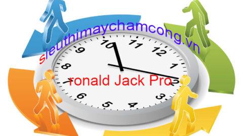 Hướng dẫn phần mềm chấm công ronald jack online