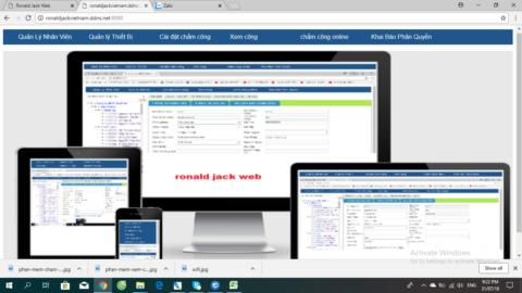 Phần mềm dùng cho máy chấm công vân tay miễn phí