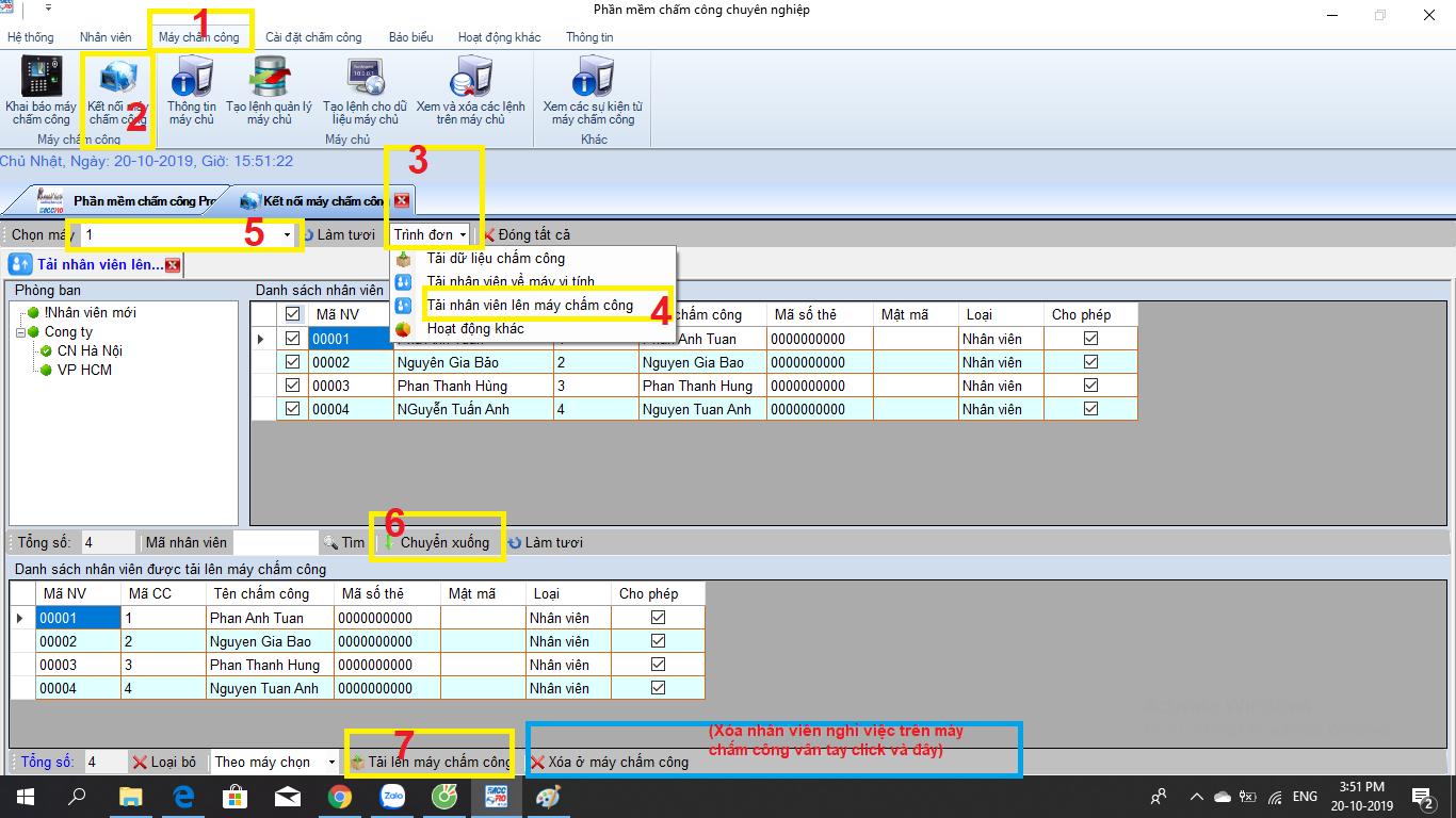 hướng dẫn sử dụng          ứng dụng chấm công ronald jack pro